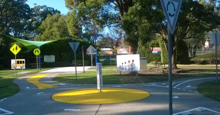 Campbelltown's Bicycle Education & Road Safety Centre