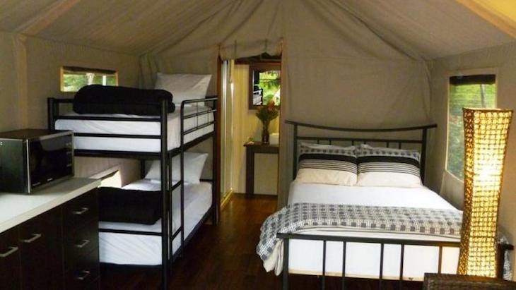 Safari Palm Tents Central Coast