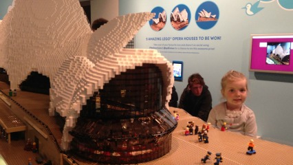 Escaping the rain at sydney museum 39 s sydney harbour icons for Lego house original