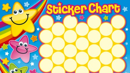 picture of sticker chart: Sticky situation are sticker charts doing more harm than good