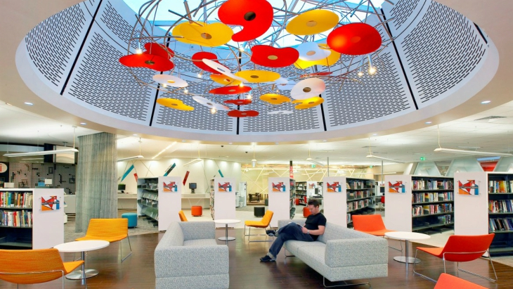 Kid friendly library randwick