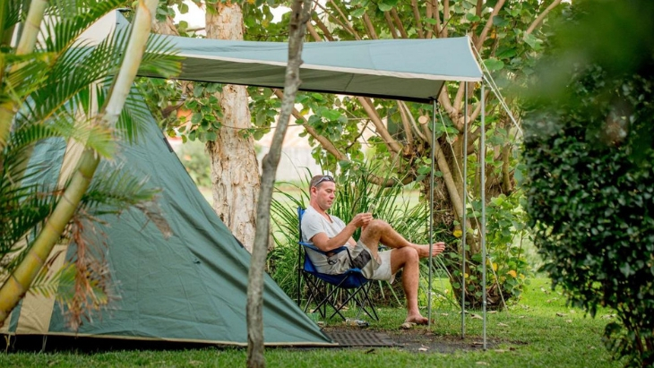 Kids camping near brisbane ballina big4