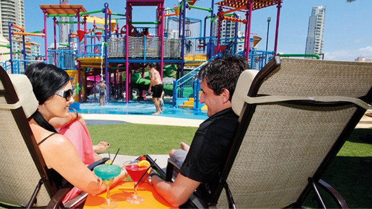 Best kid friendly getaways near brisbane paradise resort2