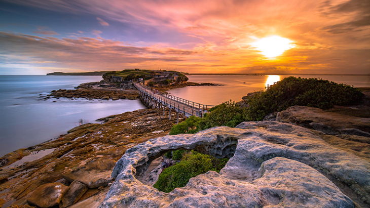 Sunset best sydney laperouse