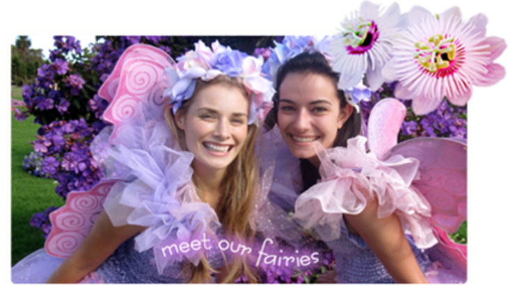 Hire birthday party fairy sydney fairy crystal