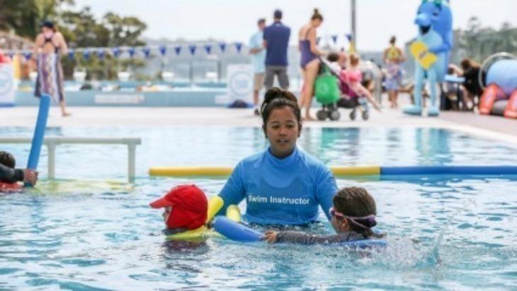 Learn To Swim At Andrew Boy Charlton Pool In Sydney 39 S Cbd Ellaslist