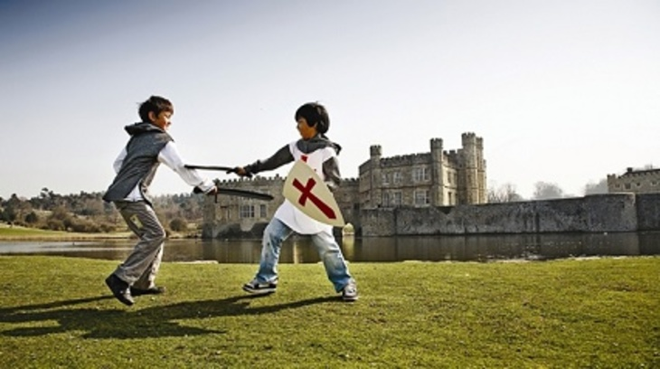 Leeds castle knights kids activities